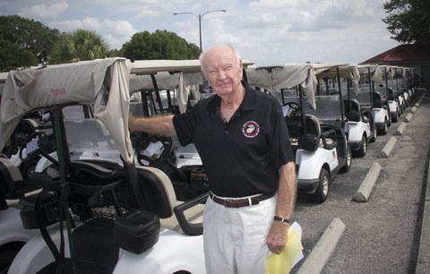 Red Carpenter at the USMCCCA Foundation, Florida Chapter Golf tournament at Sherman Hills Golf Club in Brooksville, Fla., April 22, 2016.