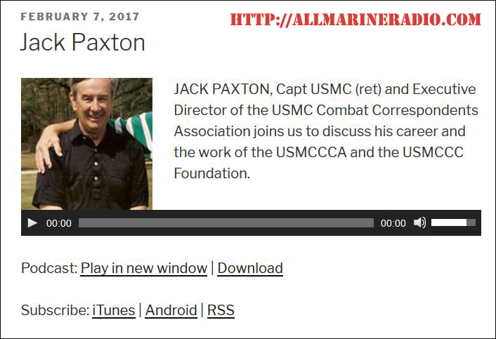 Jack Paxton, Executive Director speaks with Mike McNamara on his podcast show.